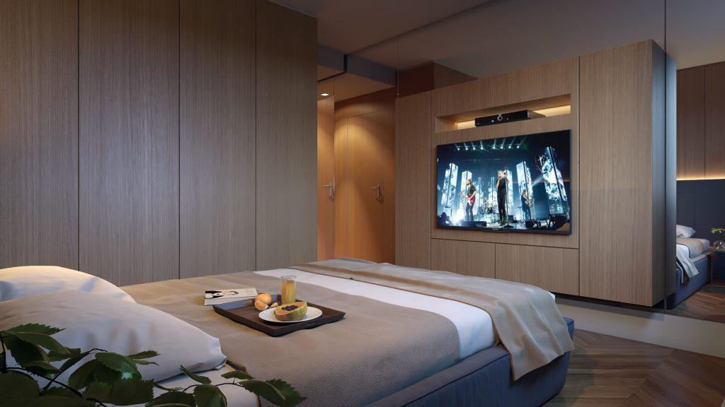 Dormitório Empreendimento Leeds - 102 m2
