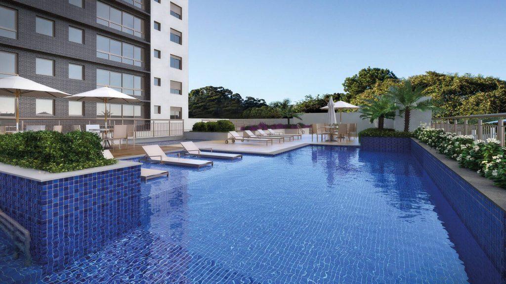 piscina do empreendimento Garden Tower