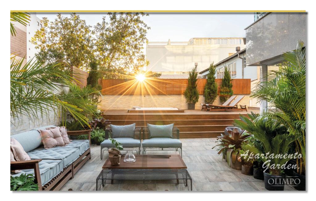 Apartamento Garden do empreendimento de alto padrão Olimpo